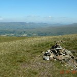 Great Coum - view of Howgills & Baugh Fell