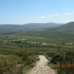 Penyghent from path down Whernside