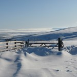 Pendle Hill from Cross of Greet