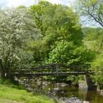 Hindburn footbridge, below Lowgill