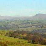 Lowgill, Ivah, Whernside & Ingleborough from Summersgill Fell