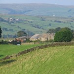 View to Caton Moor from Aikengill