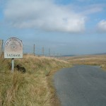 Tatham sign at Cross of Greet; when did it disappear?
